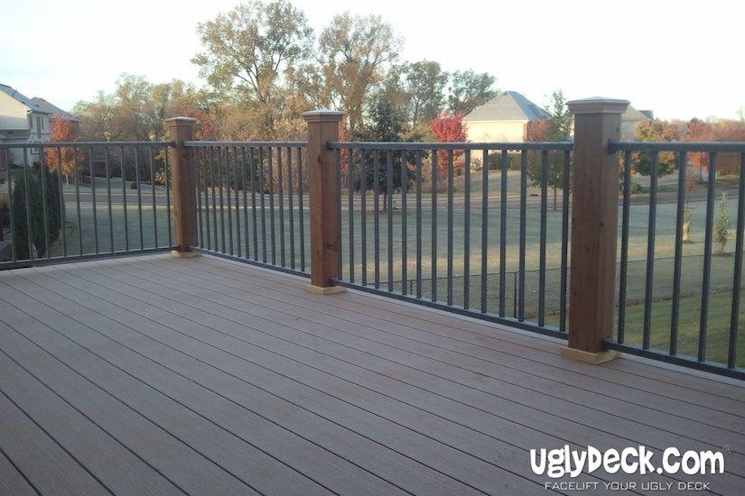 Pin By Uglydeck Com On Deck Railings Building A Deck Deck Design Aluminum Railing Deck
