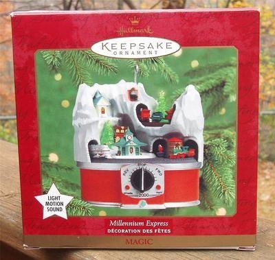 2000 Hallmark Keepsake MILLENNIUM EXPRESS Light Motion Sound TRAINS ORNAMENT  Hallmark Christmas Ornaments, Christmas Past - EGO Power+ 20-Inch 56-Volt Lithium-ion Cordless Lawn Mower - 5.0Ah