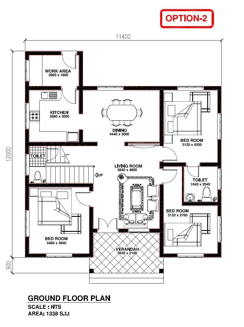 new home plans kerala model elegant style bedroom beautiful bhk plan unique also three bedrooms in square feet house rh pinterest