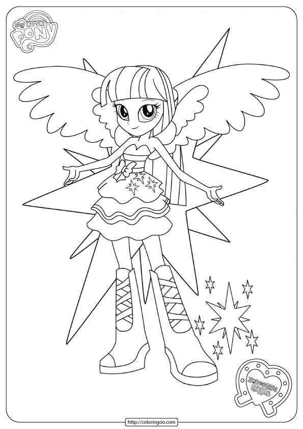 Mlp Equestria Girls Twilight Sparkle Coloring Pages In 2020 My Little Pony Coloring Coloring Pages For Girls Unicorn Coloring Pages