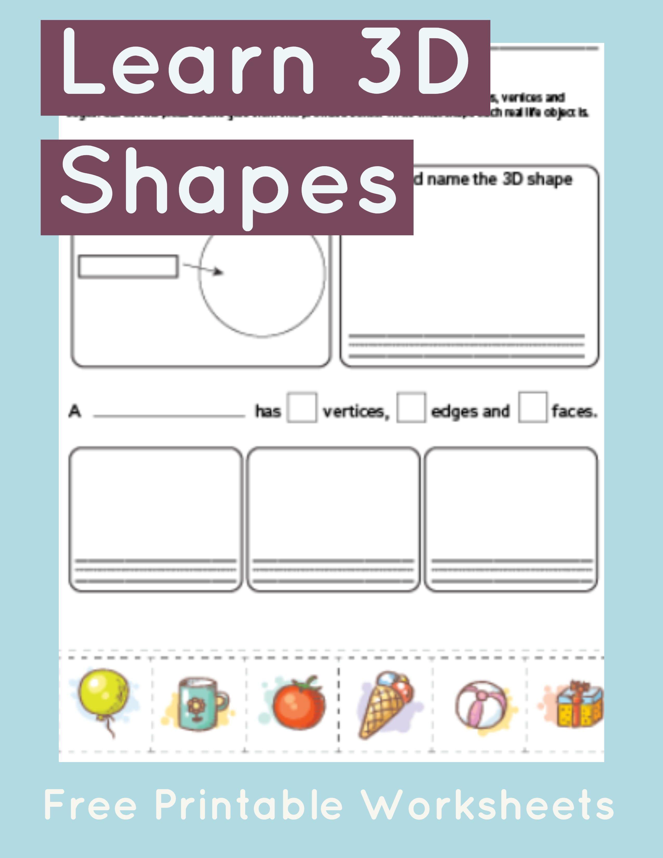 Sphere Worksheet