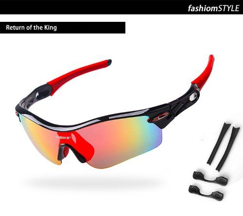 Inbike New Cycling Bicycle Bike Sports Sun Glasses Sunglasses with 5 Lens, 4 Colors to Choose | Your #1 Source for Sporting Goods & Outdoor ...