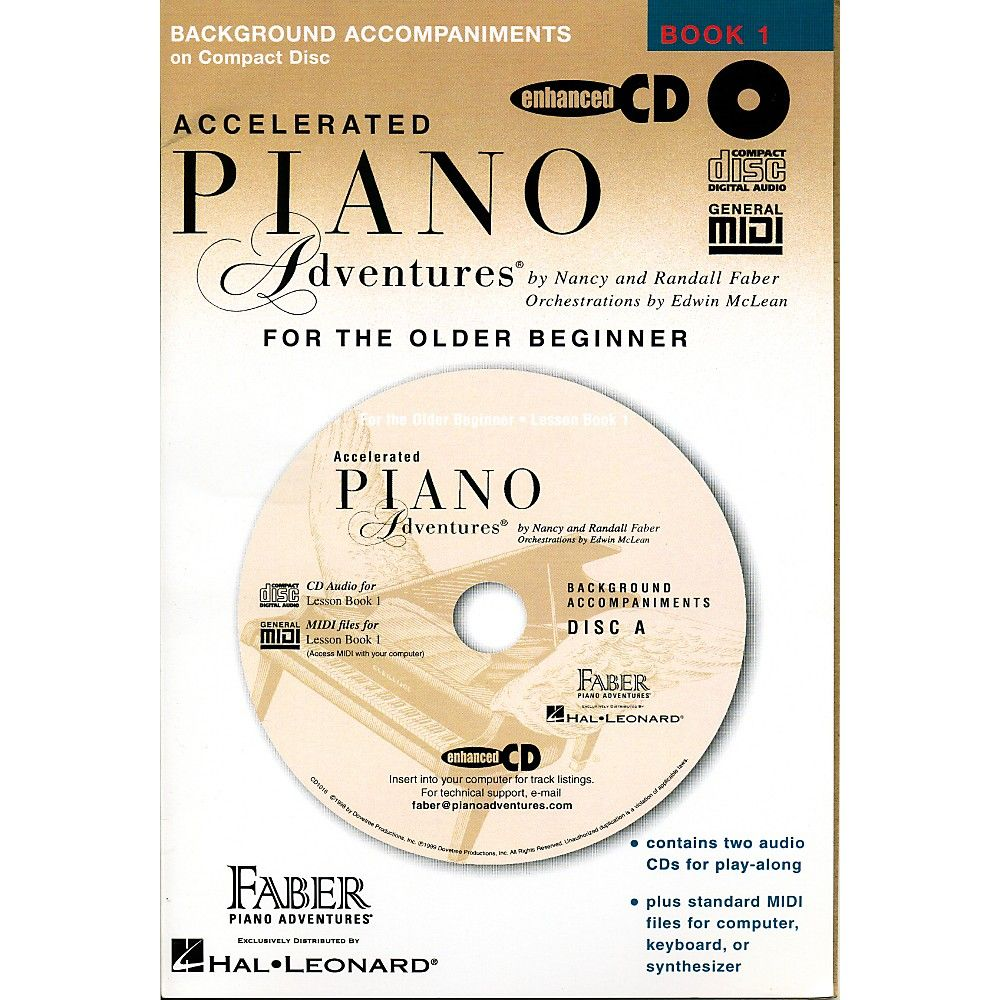 Faber Piano Adventures Accelerated Piano Adventures for The Older Begi