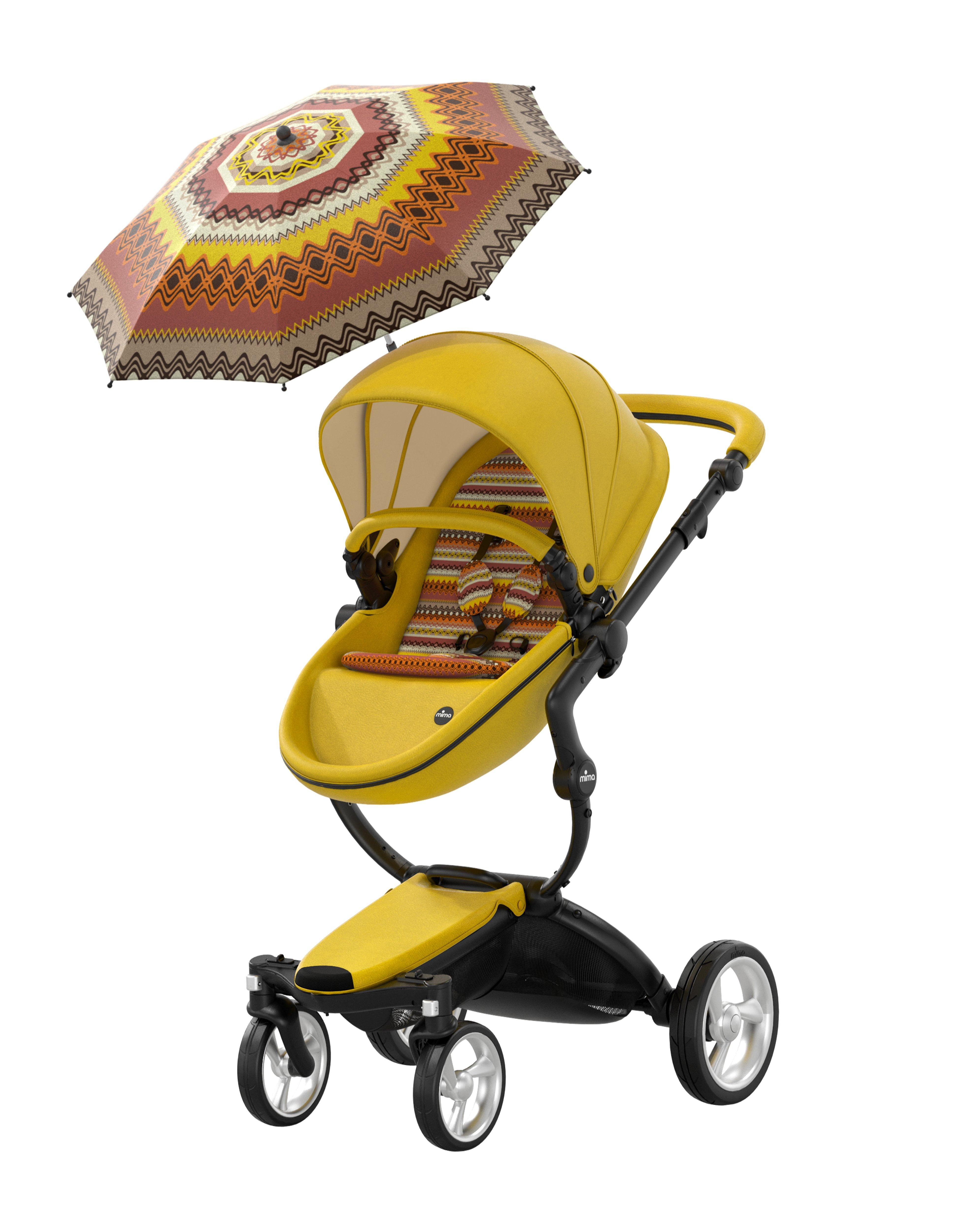 Mima Xari Yellow Limited Edition Stroller Cărucioare