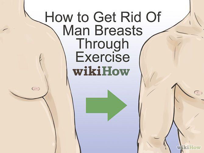 Lose man boobs exercise