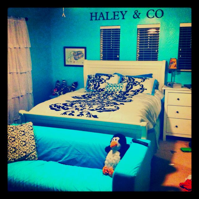 Tiffany Blue Bedroom For A Teen