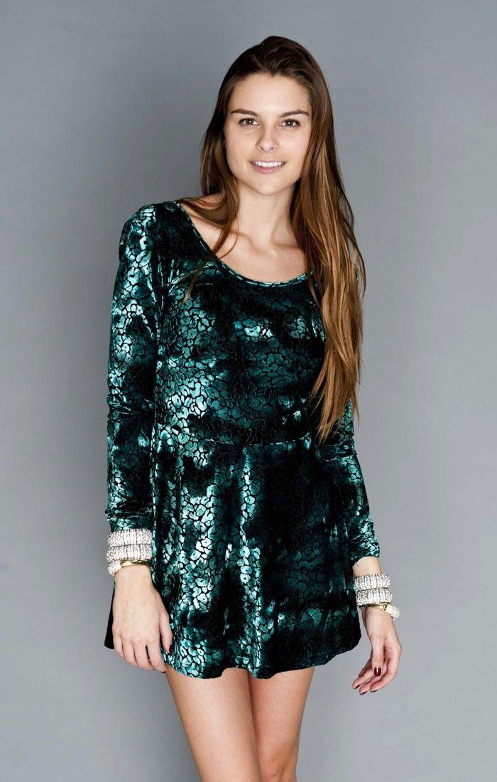 Georgia Mae Party Dress - Disco Cheetah