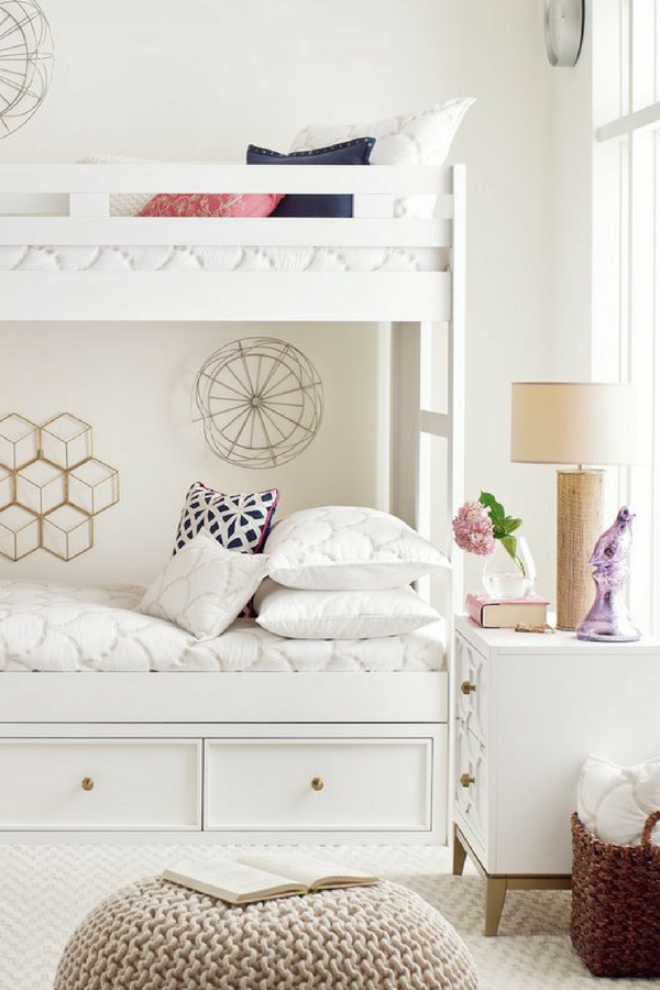 Rachael S Chelsea Youth Complete Twin Panel Bed Is A Glamorous Sophisticated Grouping That Brings Her Fashion Forward Taste To Any Age