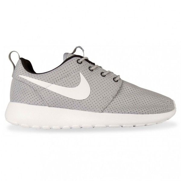 Nike Sportswear ROSHE RUN WOMENS Grey White Black ( 99) ❤ liked on Polyvore  featuring shoes 7ab2347ff