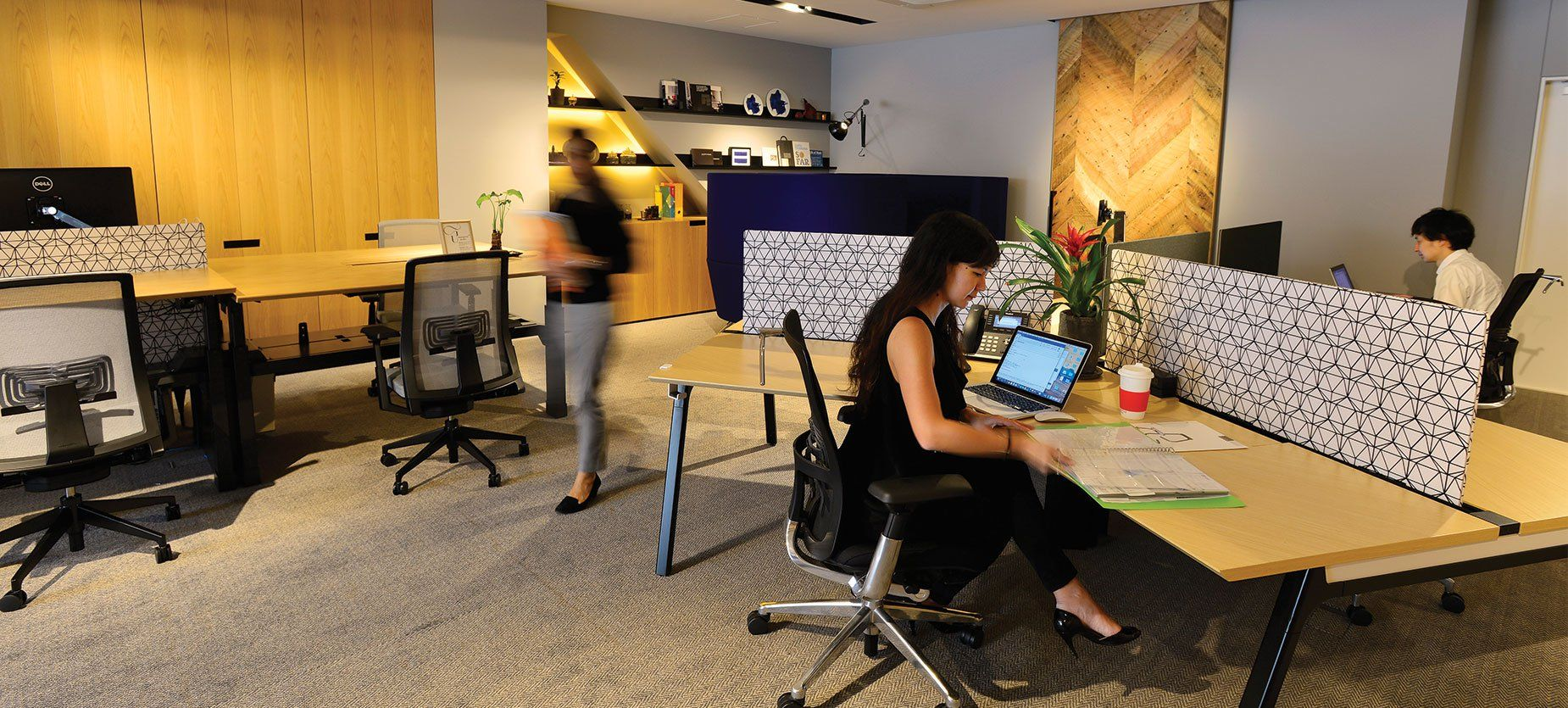 Discover Haworth's At Work Open Office Spaces Open