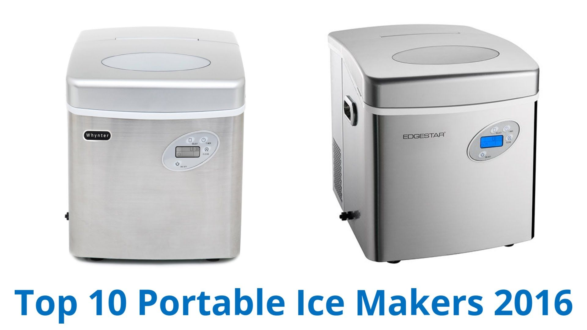 10 Best Portable Ice Makers 2016 Portable Ice Maker Ice Maker Portable