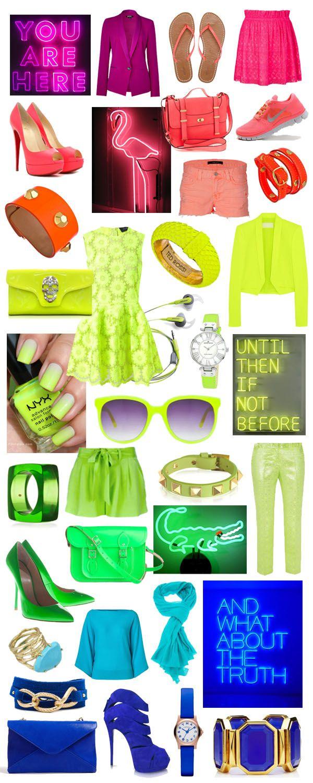 Días llenos de neon