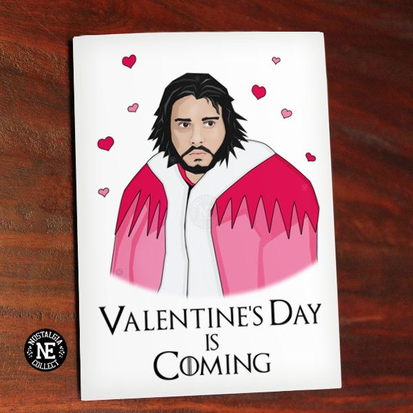 Valentineu0027s Day Is Coming   Funny Valentineu0027s Card   TV Show Card