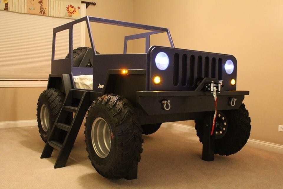 Pin by C L on Land Rover kid's bed | Jeep bed, Kid beds ...