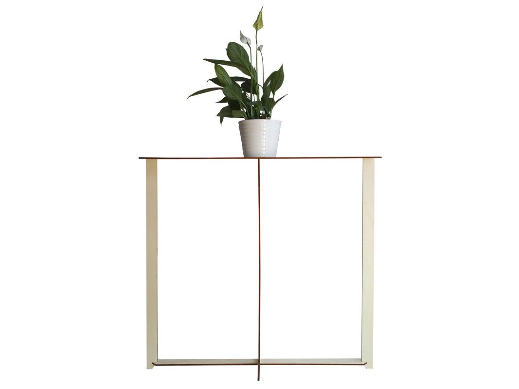 Wood Entry Table laser cut wood console table,wooden entry table,modern console