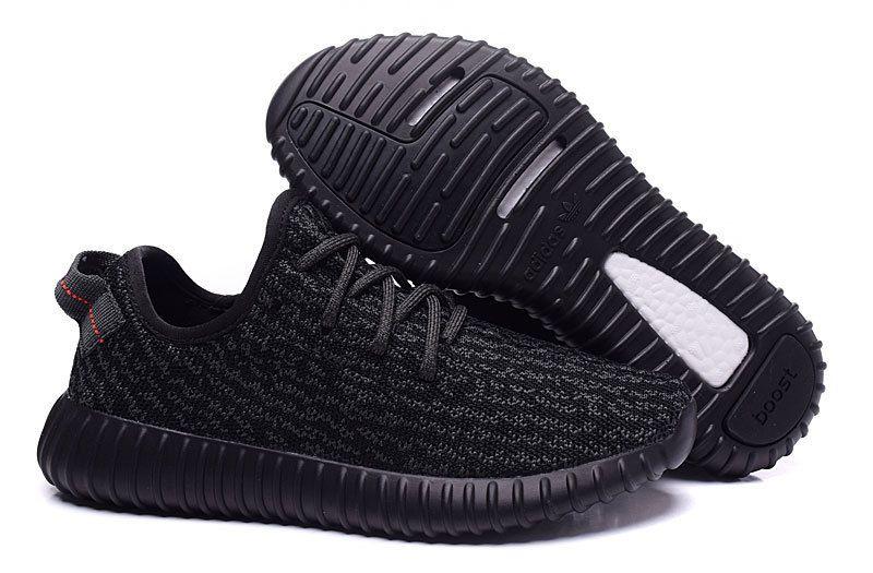 2016 Adidas Yeezy Boost 350 Women Running Shoes all black : Discount Nike  Air Max 2015 & Cheap Nike Flyknit Running Shoe