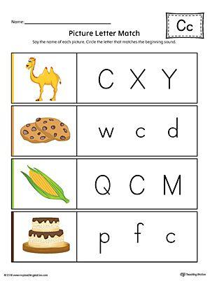 Alphabet Letter Hunt Letter M Worksheet (Color) Picture letters - resume worksheet