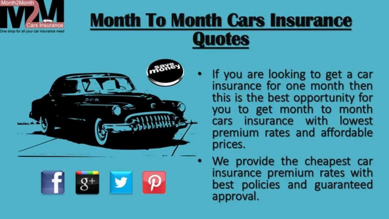 Cheapest Monthly Car Insurance Cheap Car Insurance Auto