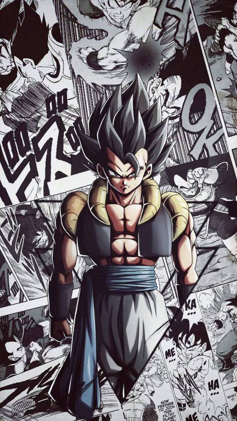 Gogeta Dragon Ball Z iPhone Wallpaper Free GetintoPik in