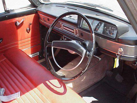 1968 Datsun Bluebird Interior