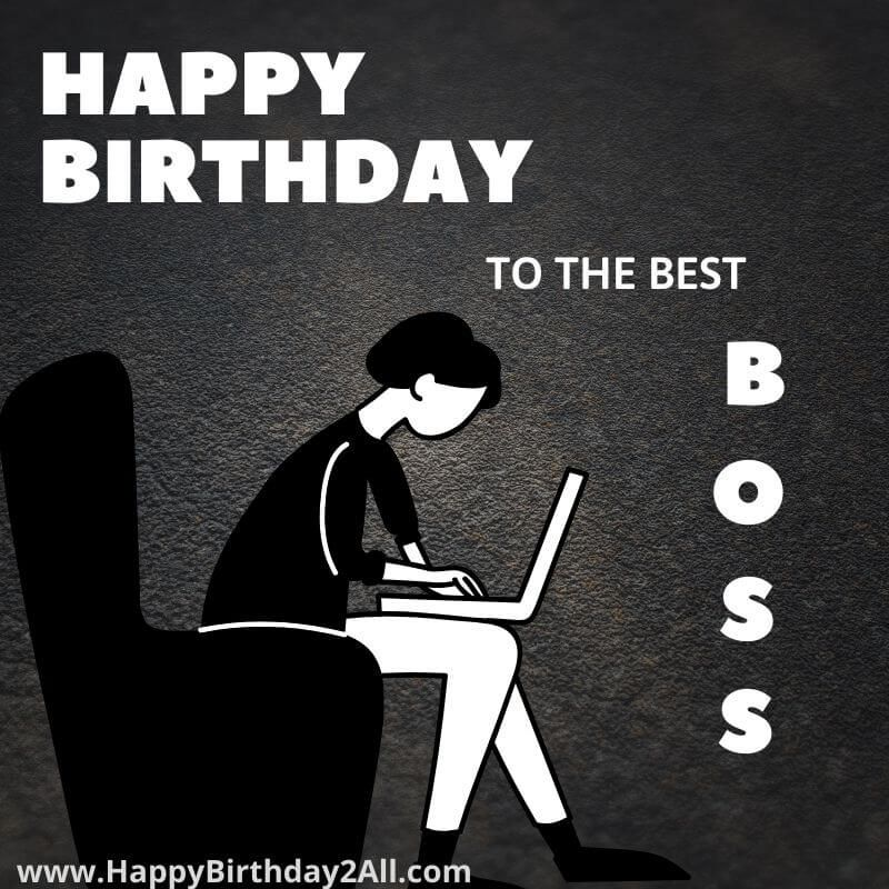 Pin on Birthday Wishes for Boss