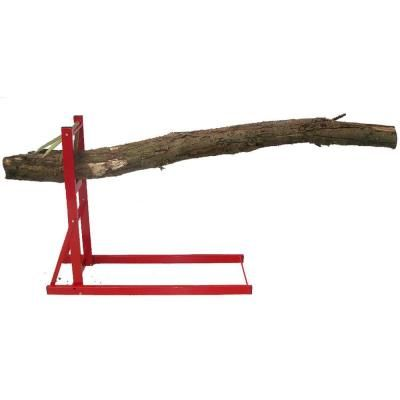 Forest Master 330 Lb Capacity Quick Fire Saw Horse Log Holder For Chainsaws And Log Splitters 80 933 The Home Depot Log Holder Sawhorse Wood Projects Plans