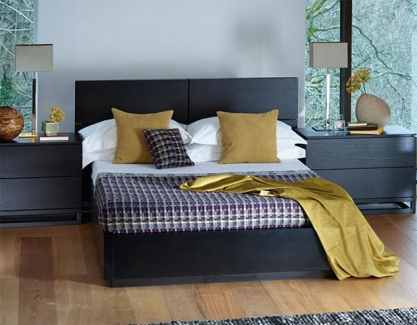 60% OFF! Gillmore Space Modern Cordoba Bed in Wenge and in Double or ...