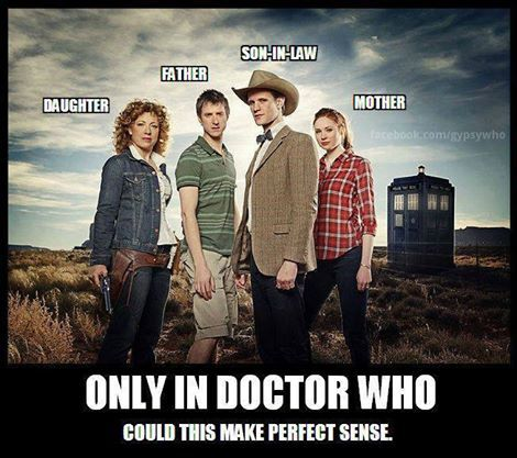 Family Tree That Only Works In Dw Doctor Who Amy Pond Doctor Who Funny Doctor Who Cast
