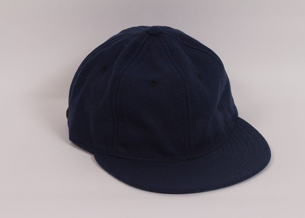 7dbd9ebc0a355c 1940's Ball Cap | Navy Wool | Clothes | Wool, Baseball Cap, Cap