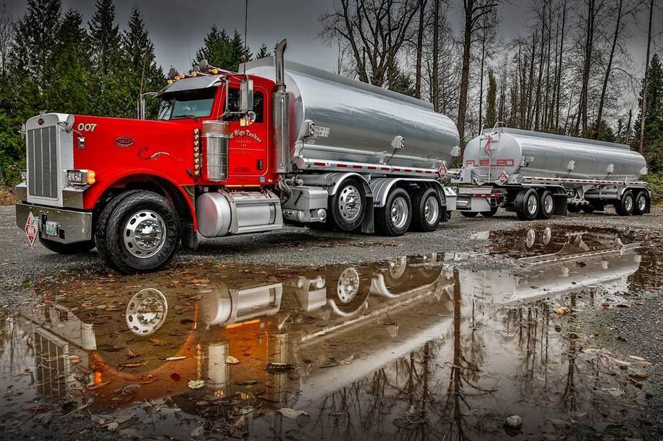 Peterbilt Fuel Tanker Tanker Trucking Fuel Truck Big Trucks
