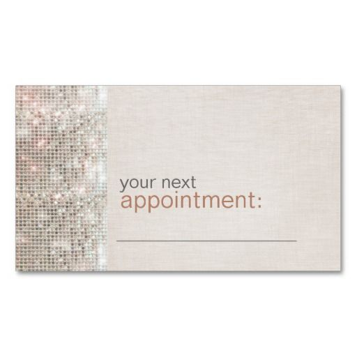 Modern and hip business sequin appointment card business card modern and hip business sequin appointment card business card template fbccfo Choice Image
