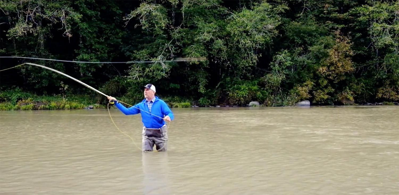 Tim Rajeff on Casting Heavy Flies Video Fly fishing