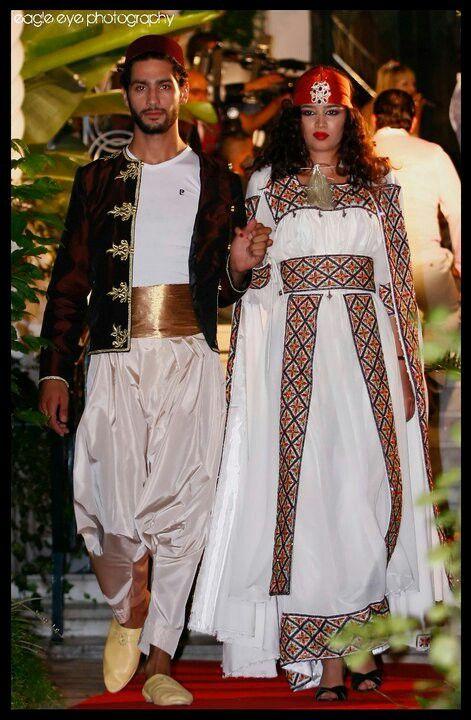Tenue kabyle homme V.S femme