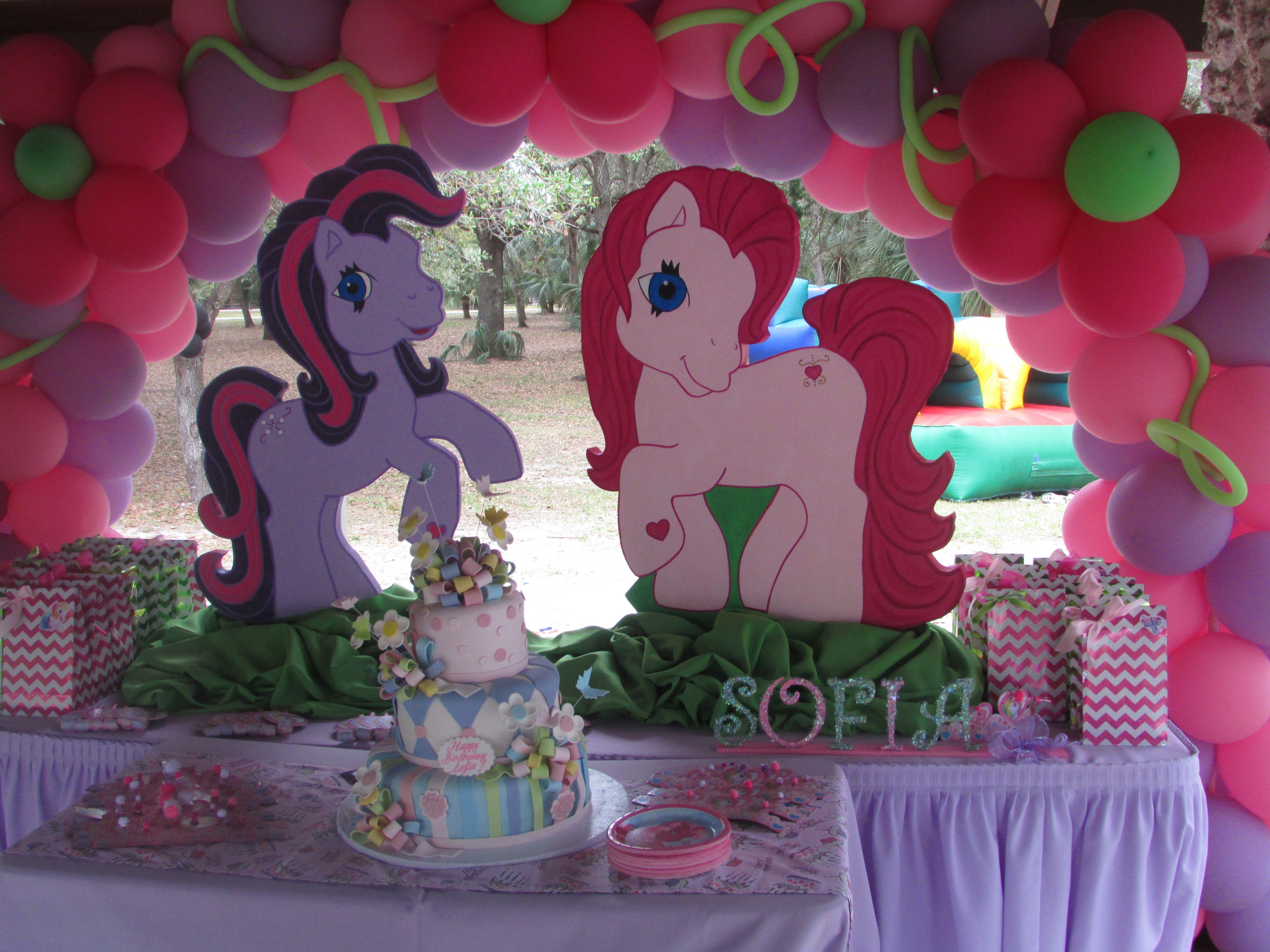 My Little Pony Birthday Cake Table Decor Pink Purple Birthday My Little Pony Birthday Pony Birthday Party My Little Pony Birthday Party
