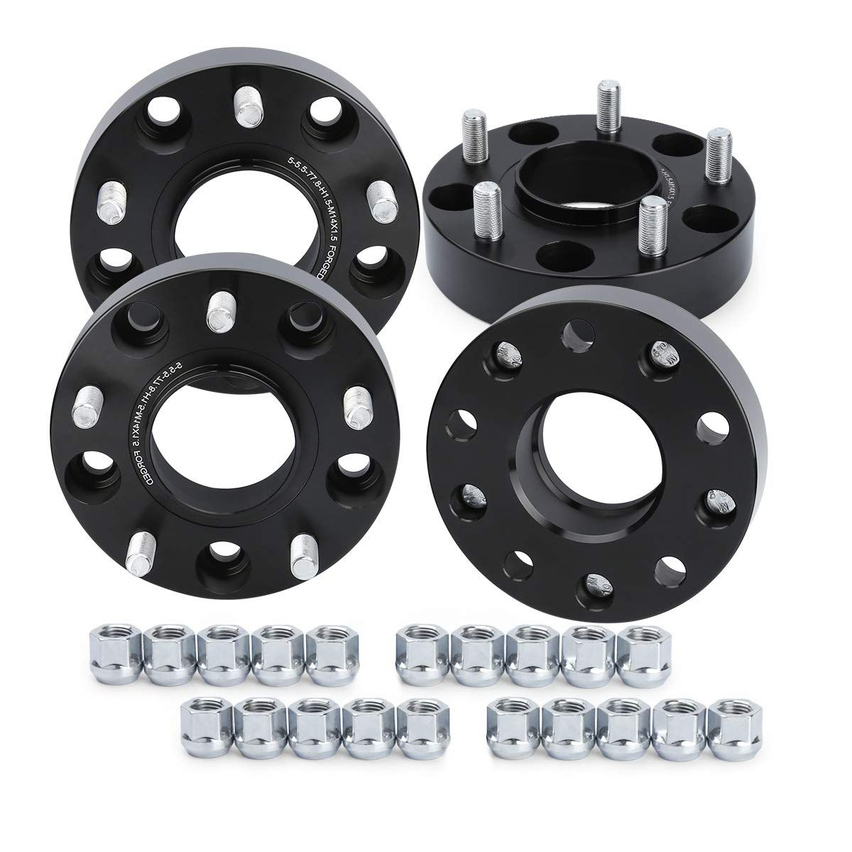 Ksp Wheel Spacers For Ram 1500 4pcs 1 5 38mm 5x5 5 To 5x5 5 Hub Centric Forged Wheel Spacers Hub Bore 77 8mm Thread Forged Wheels Dodge Ram 1500 2018 Dodge