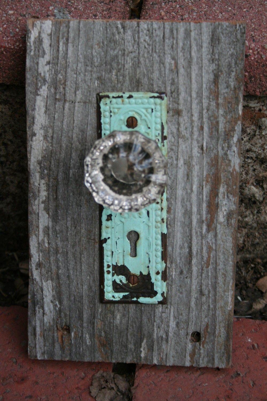 saleantique door knob decor by paperhellos on etsy doors locks