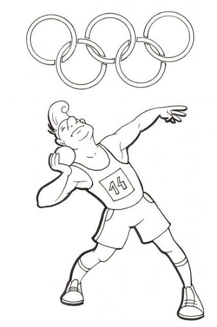 Logo of Olympic Games Rio 2016 coloring page | JOCS OLÍMPICS ...