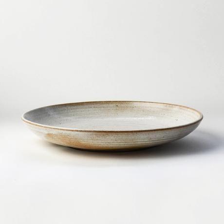 Nom Living Rustic stoneware pasta bowl white pasta dinnerware tableware & Nom Living Rustic stoneware pasta bowl white pasta dinnerware ...
