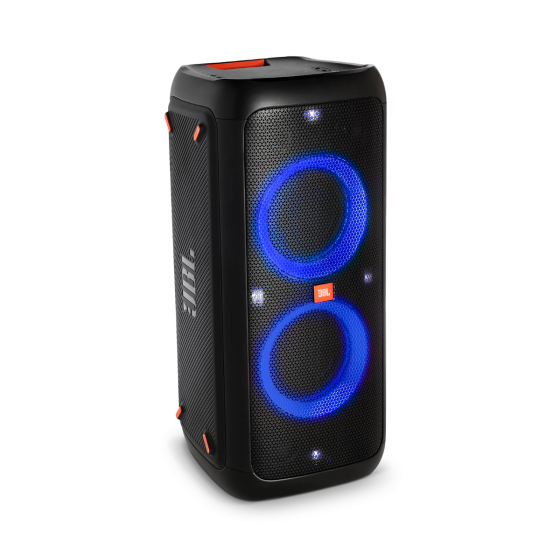 Jbl Party Box 300 Rechargeable High Powered Sound System With Bluetooth And Light Show Party Speakers Bluetooth Audio Portable Speaker