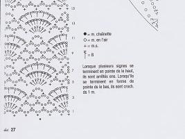 Diagramme du point au crochet du snood noir • Hellocoton.fr