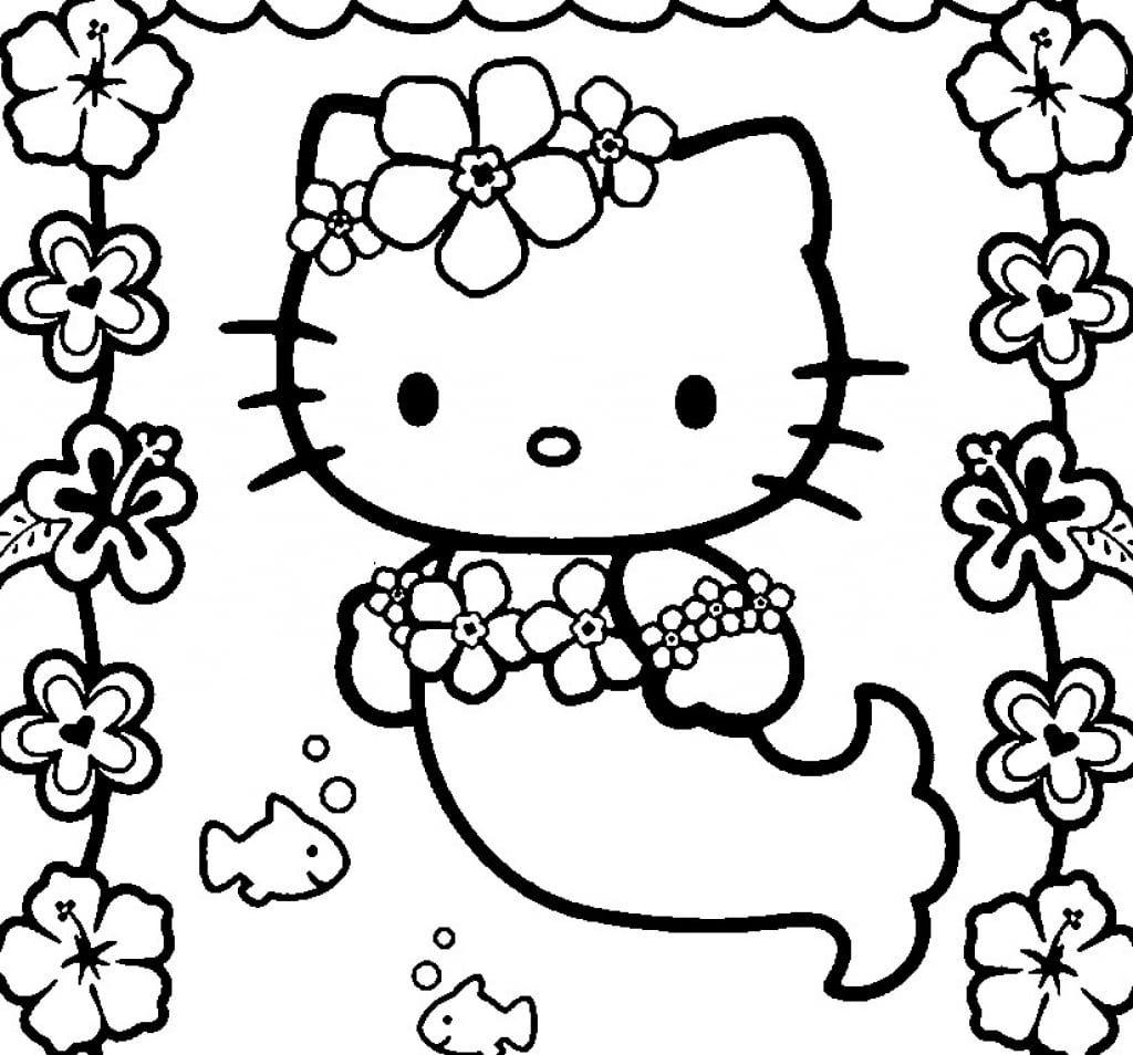 Surging Hello Kitty Colouring In 21071 31185 Hello Kitty Coloring Mermaid Coloring Pages Kitty Coloring Pages