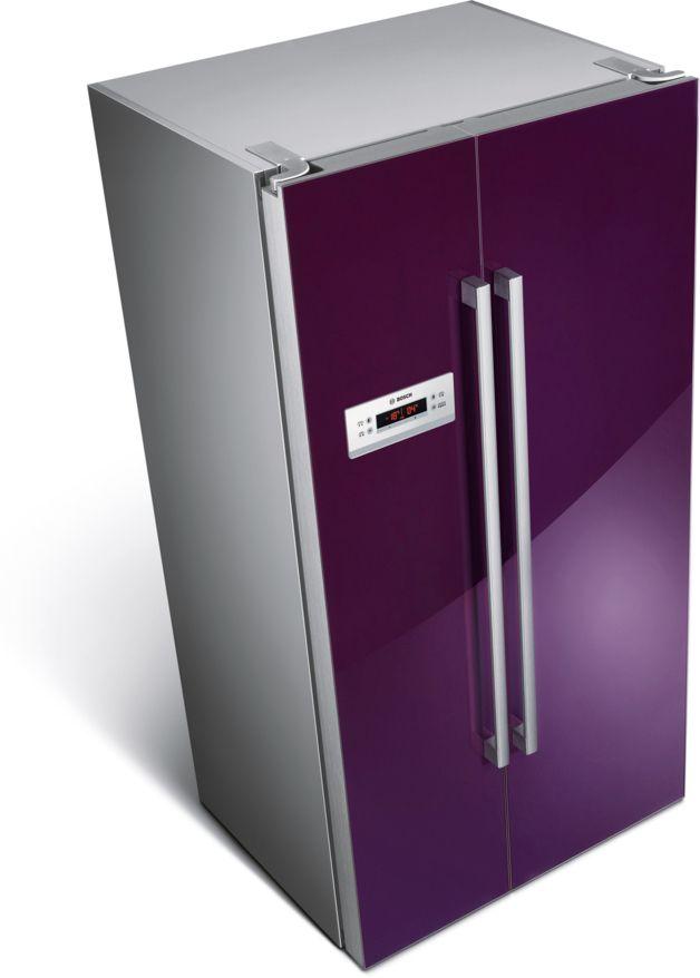 Bosch Purple Refrigerator!
