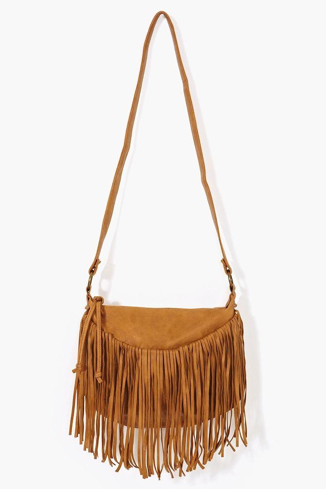 Desert Fringe Bag Camel