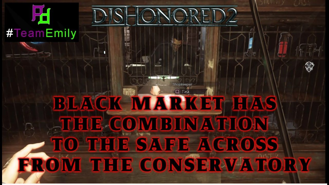 black market location