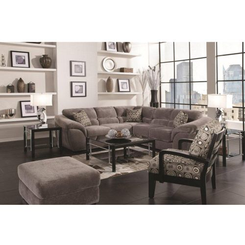 Woodhaven ritz collection includes sofa ottoman coffee for Sectional sofas aarons