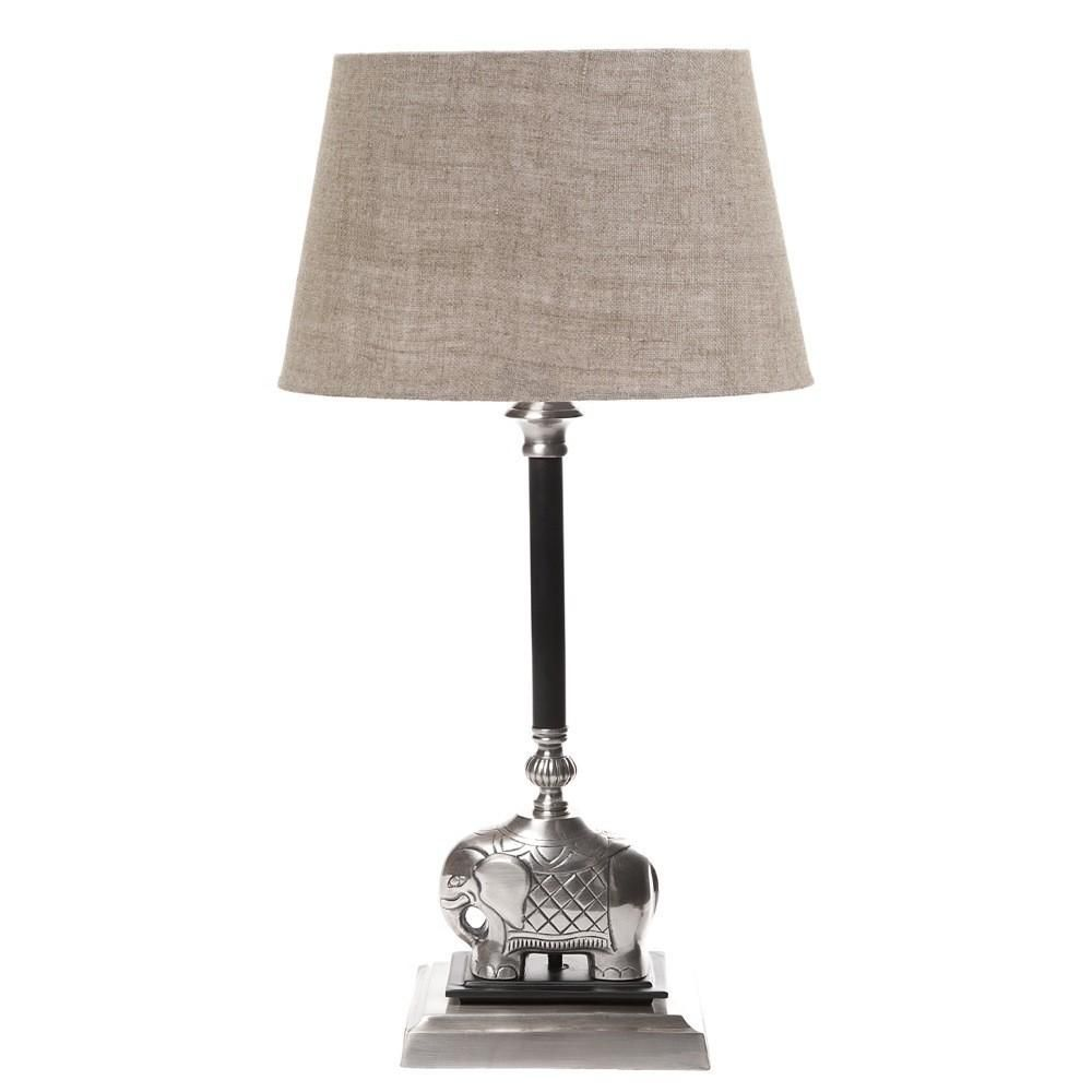Sabu Elephant Lamp | INTERIORS ONLINE | Elephant lamp, Table lamp base, Lamp