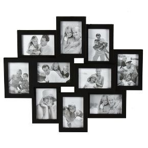 10 Opening Collage 4 X6 Frame Black Picture Frame Wall Collage Picture Frames Collage Frames