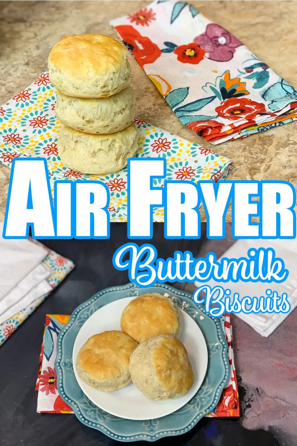 Air Fryer Buttermilk Biscuits Recipe (With images