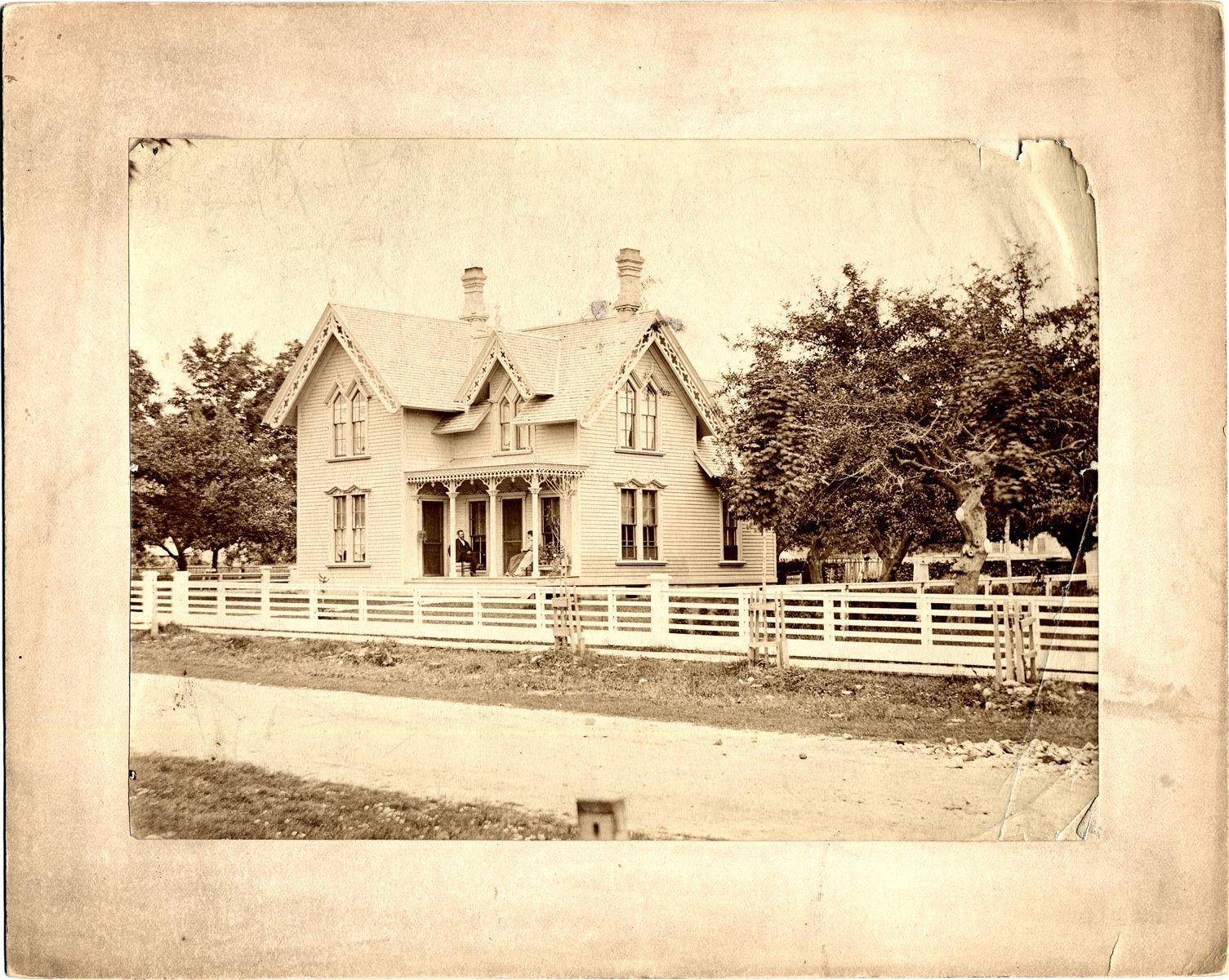 Wooden House Behind Fence Dpl Dams Detroit Detroit History Detroit Houses Wooden House