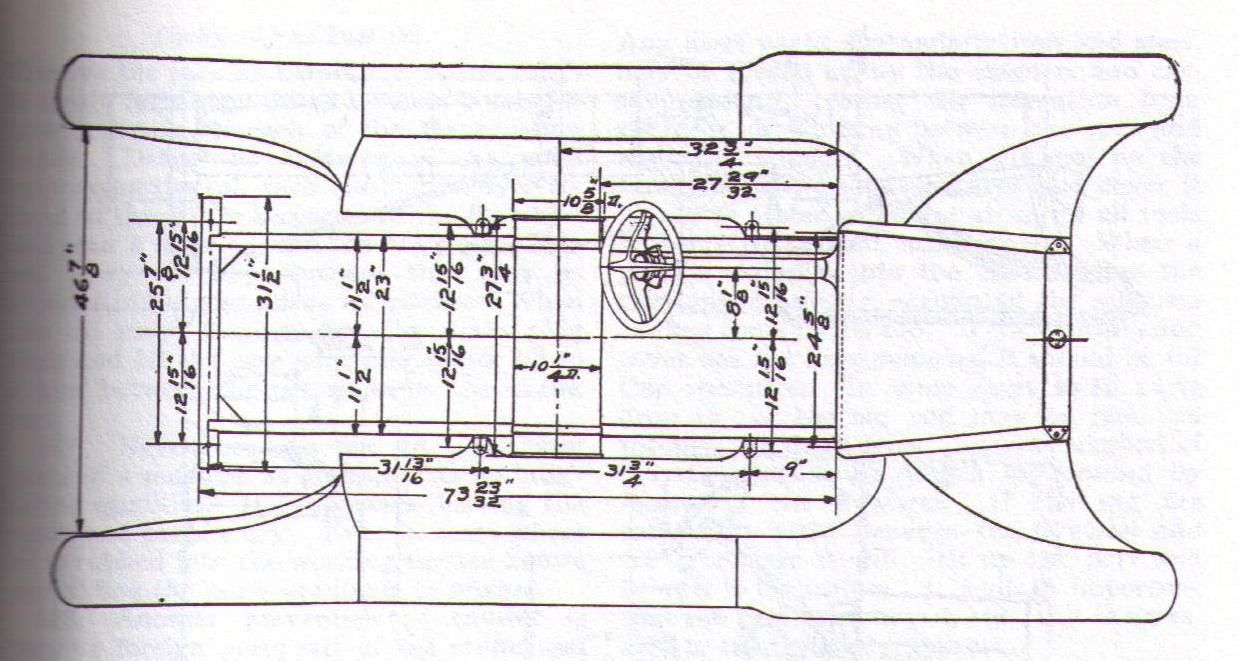 Model T Ford Forum: Speedster Racer Roadster Body plans